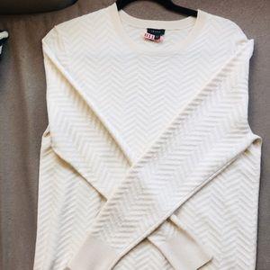 White / cream Theory sweater